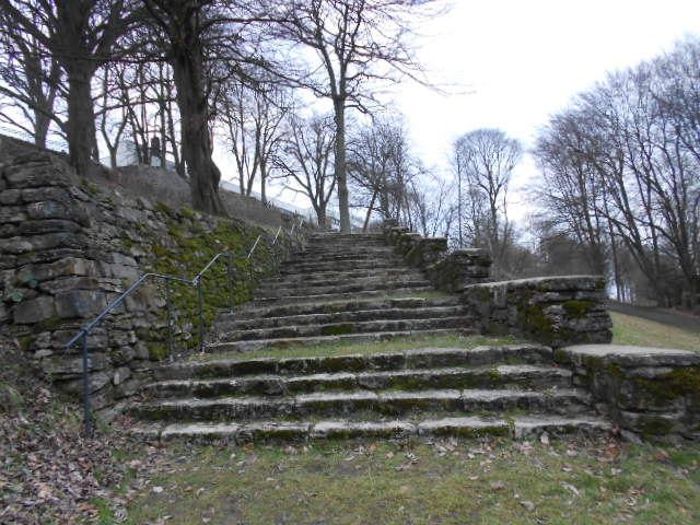 Treppe am Johannisberg